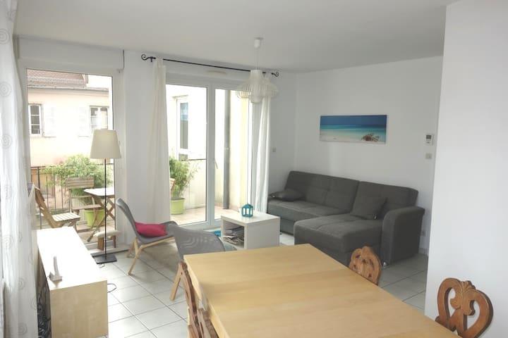 4 pièces 86 m2 au centre ville de Sélestat - Sélestat - Lägenhet