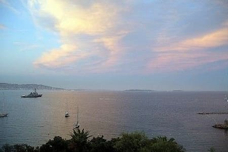 Stunning view of the Bay of Cannes, - Théoule-sur-Mer - Apartment