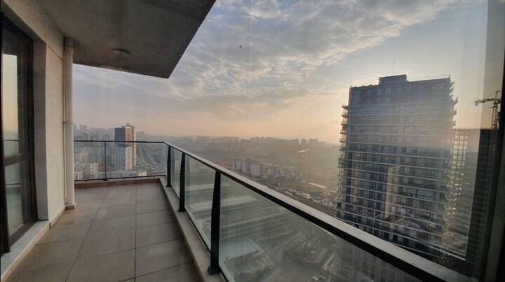 Proche du grand hopital et vue du 23 éme étage