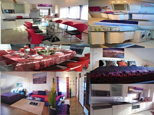 Neuwertige,Moderne 3 Z. Wohnung 100m²  b.z. 8 P.