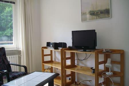 Gemütliche 1-Raum-FeWo in direkter Strandnähe - Międzyzdroje - Apartamento