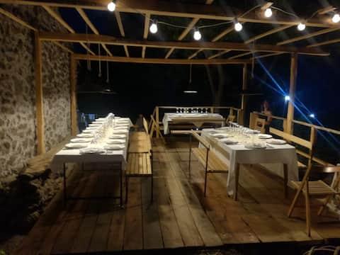 Notti Stellate Agriturismo, vinohrad na Etne