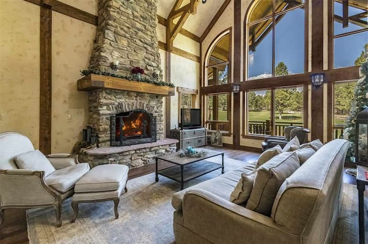 Luxury Home | Golf Course View | Fireplace; 18th Overlook