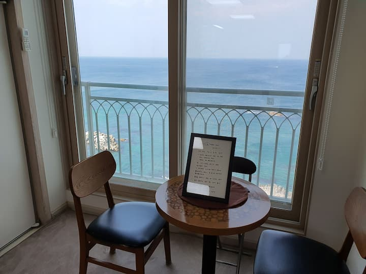 H2 - 주문진 해변로 오션뷰, 감성자극 파도 소리