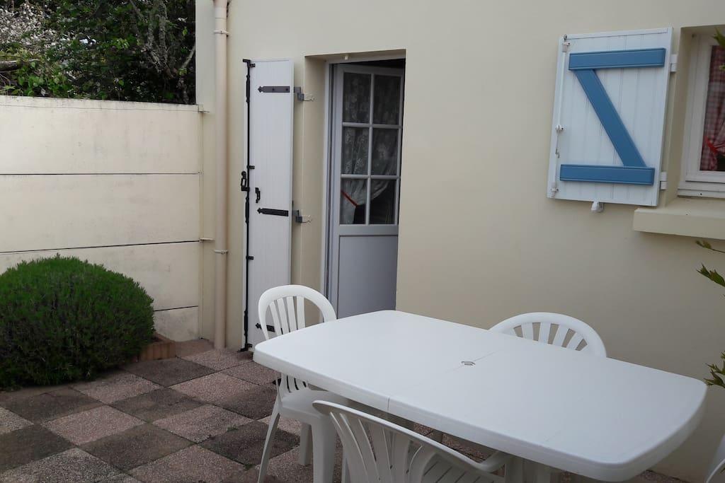 terrasse individuelle