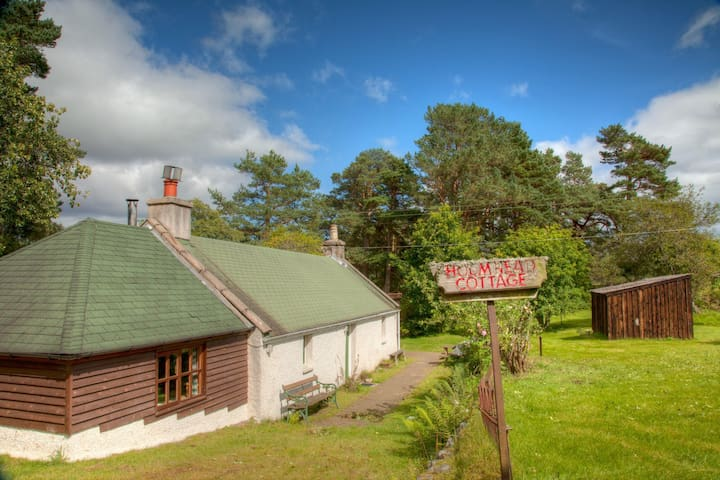 Beautiful cosy cottage in 2 acres! - Tarland