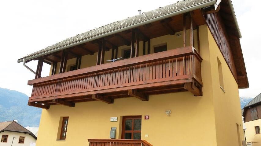 Kot House, Bovec holiday rental - Bovec - Haus