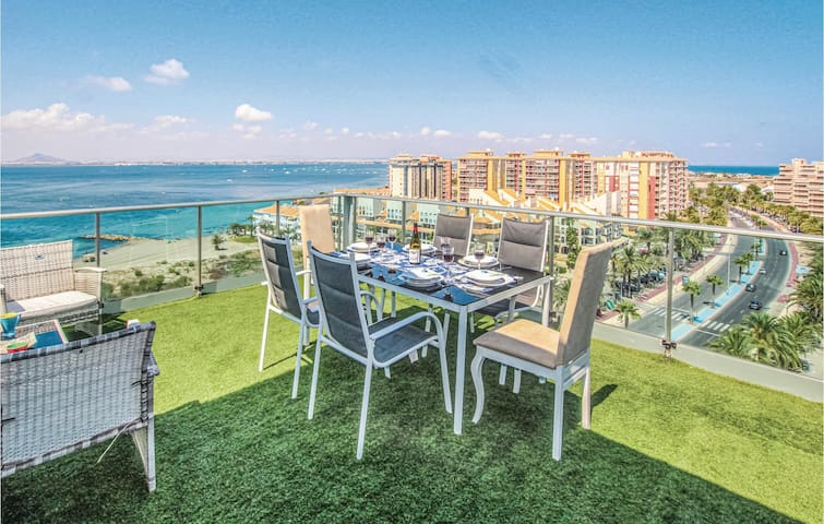 Holiday apartment with 3 bedrooms on 140m² in La Manga del Mar Menor