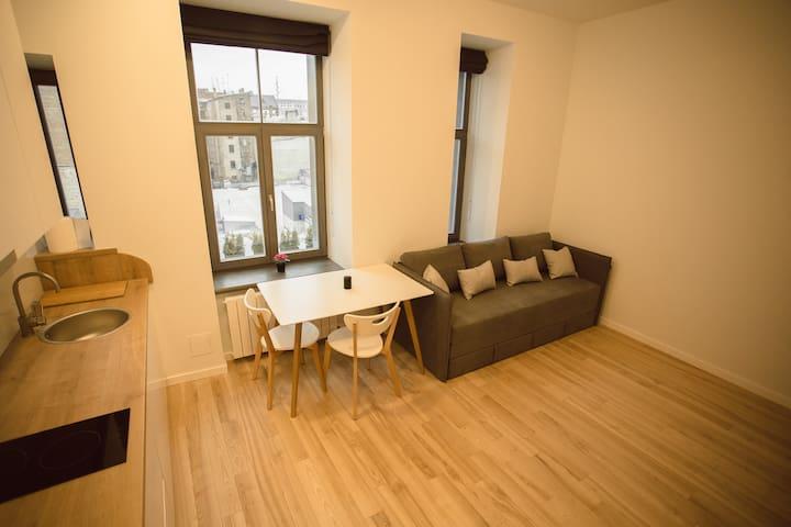 Modern studio apartment - Riga - Pis