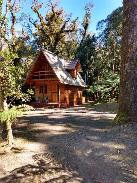 Cabana em São Chico em meio a natureza
