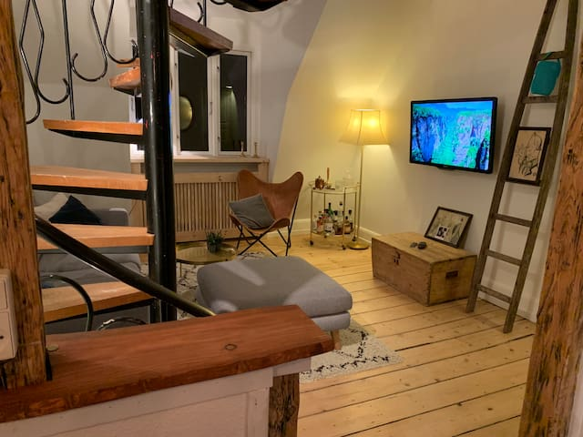 "Charming apartment in the ""Soho"" of Copenhagen"