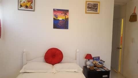 フィッシュフライとビーチ周辺のスタジオアパート
