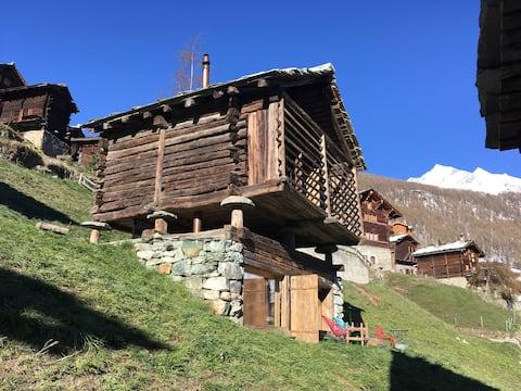 mayen à Olivier, Val d'Hérens, Valais, Sion Suisse