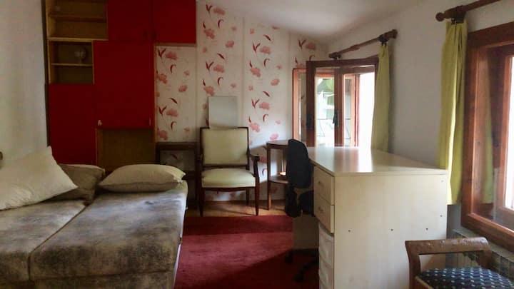 Private room in quiet house, central Belgrade