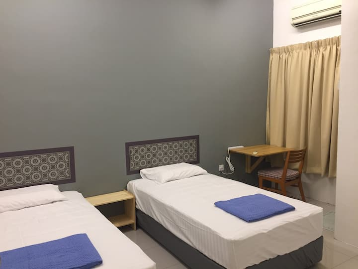 2 persons room at Bkt Chedang Seremban