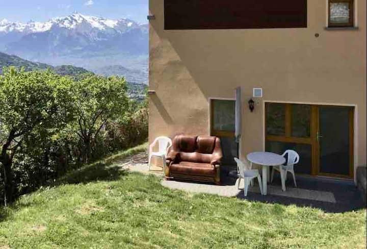 Petit appartement à louer dans le Val d'Hérens