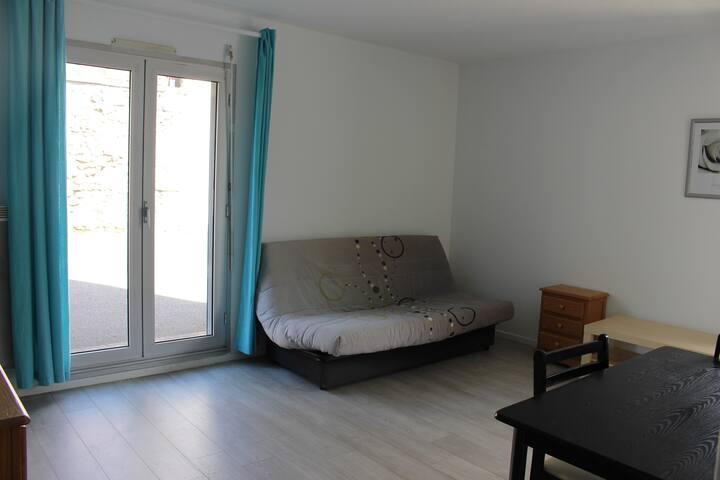 Studio lumineux - 27m² - centre ville Périgueux