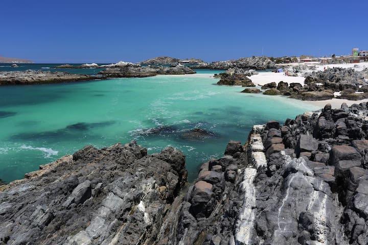 Cómoda casa en Caldera, puerto de hermosas playas