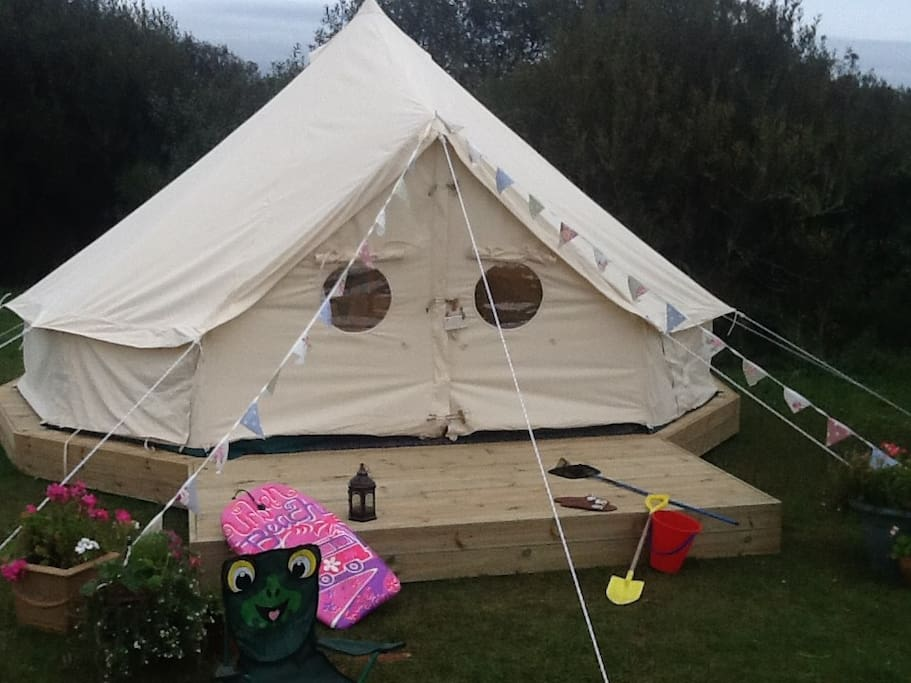 Our FAB bell tents