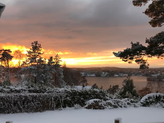 Amazing view in the archipelago of Stockholm.