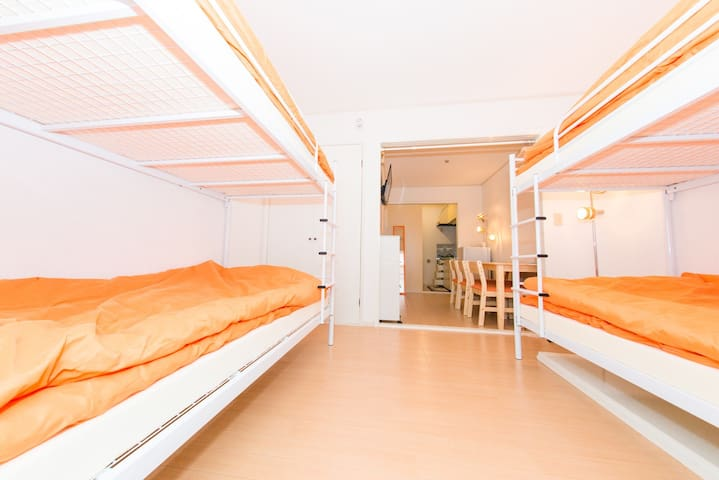6Guest/Shinjuku5min /WiFi/Renovation/TV/Clean/CUTE - Nakano-ku - Appartamento