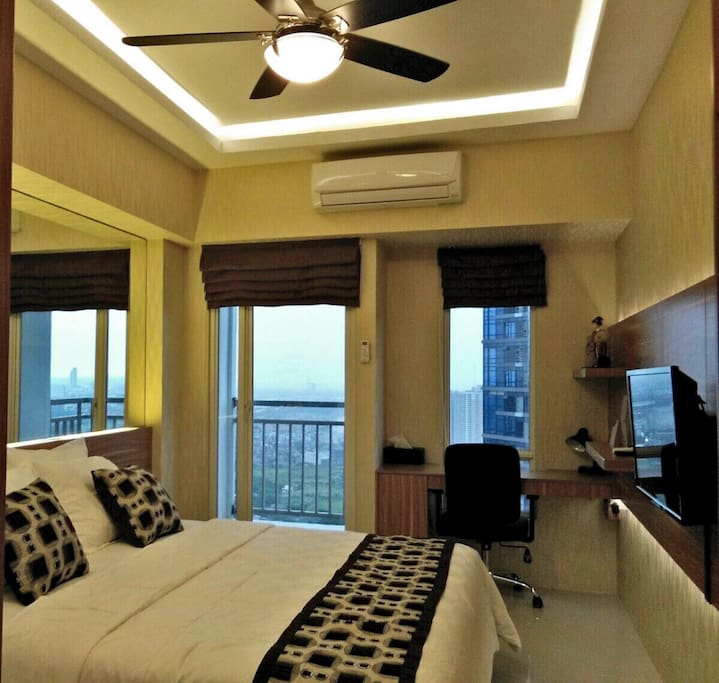 Free Wi Fi in room, Air conditioning, Ceiling Fan are provide