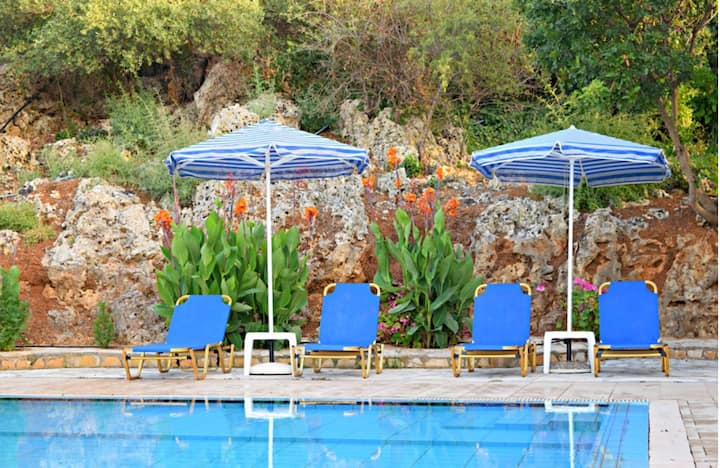 Villa Maria with private Pool, BBQ & amazing view