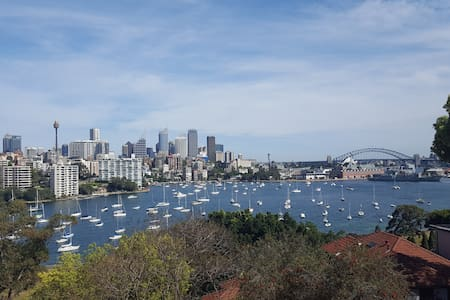 Private room in stunning Harbour view apartment - Wohnung