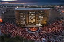 Tourisme à proximité - Orange - Chorégies au Théâtre Antique (à 20min de La Maison Joffre)