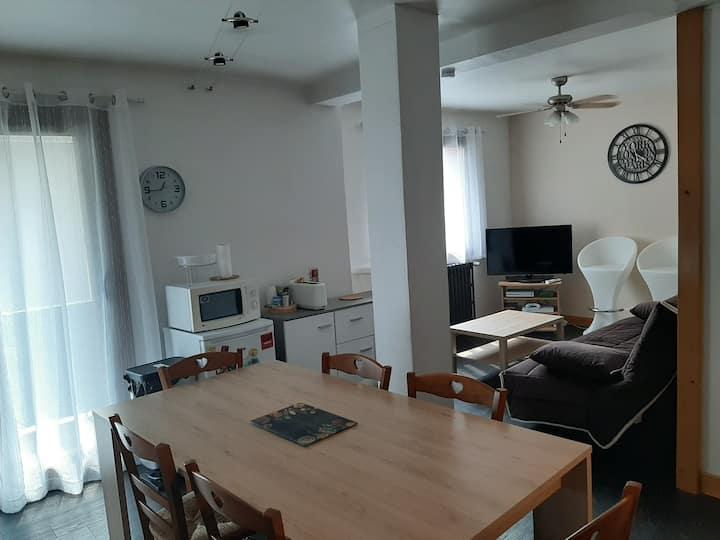 Logement entier 45 m2 une chambre