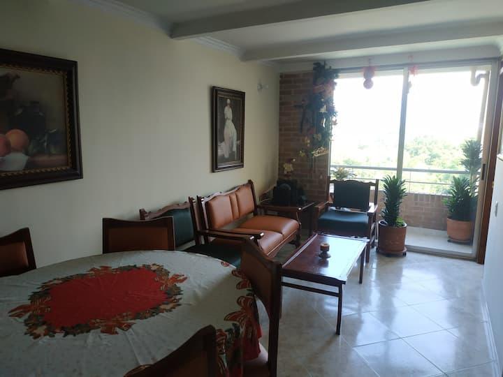 Práctico y cómodo apartamento en Medellín.