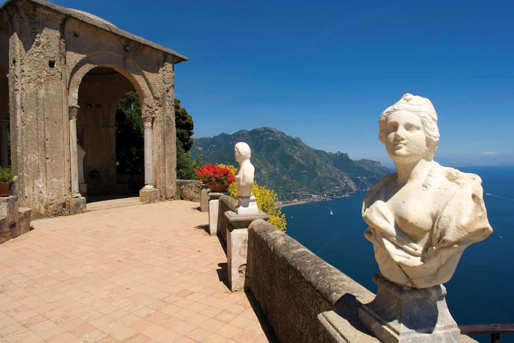 Panorama Villa Cimbrone