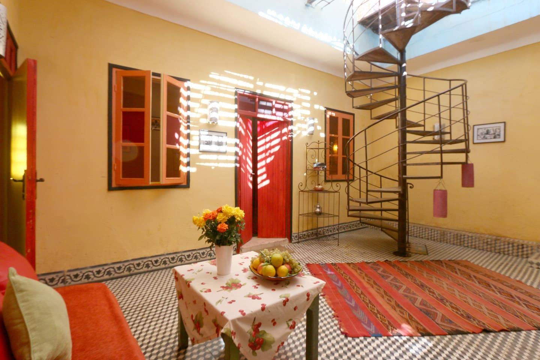 Salle De Bain Style Riad ~ appartement au coeur de la medina apartments for rent in marrakesh