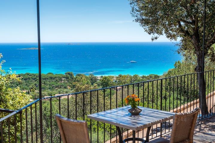 Palombaggia - Mini-villa vue mer - Plage à pied