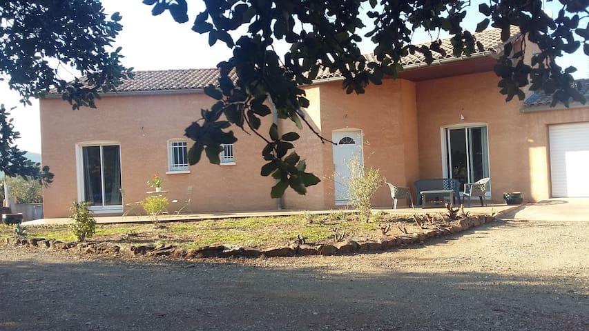 Villa à l'ombre des olivers 3 km du Lac du Salagou - Le Puech - Villa