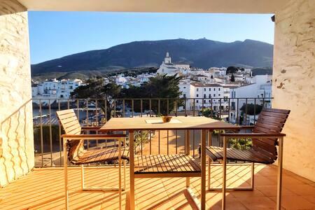 Apartamento super centrico con terraza y vista☼☼☼
