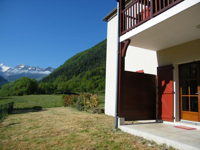 Pyrénées appartement vallée St Lary - Guchen - アパート