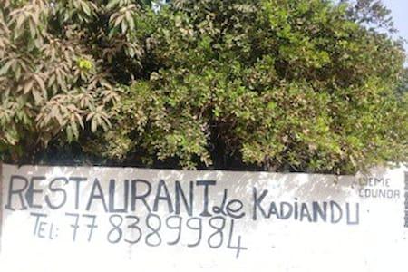 Le KADIANDU auberge restaurant fast-food
