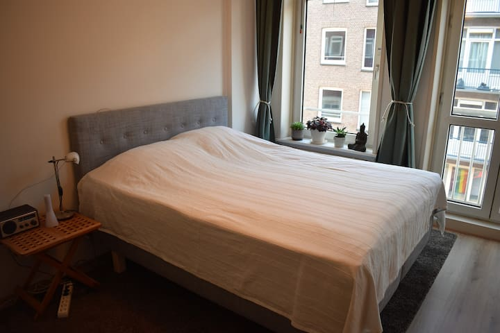 Room for professional travellers in Amsterdam