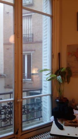 cosy,calme,lumineuse,spacieuse in 17E(Batignolles)