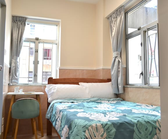 Double room location next to Causeway Bay MTR exit