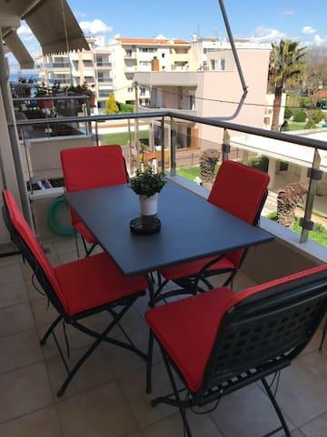 Seaside new apartment in Agia Triada