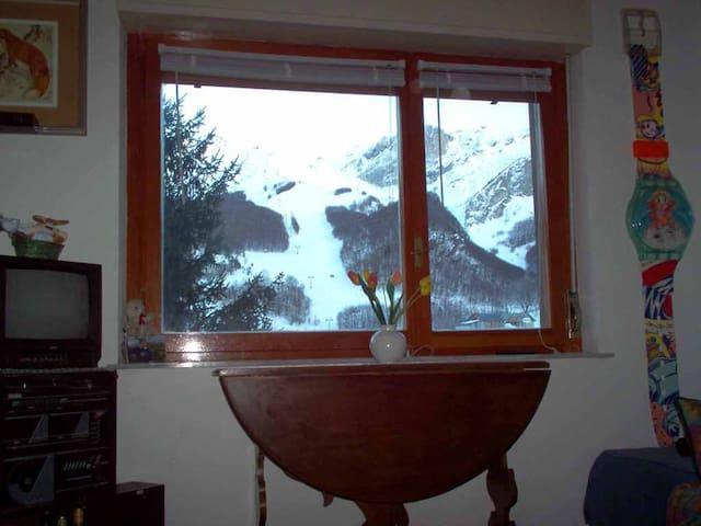 SULLE PISTE SKI DI LIMONE A QUOTA 1400 - Limone Piemonte - Apartament