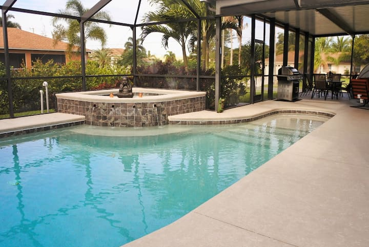 Villa American Eagle/Cape Coral * private pool