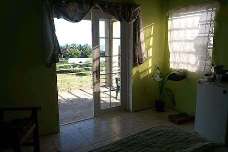Green room with a sea view. - Christiansted - Maison