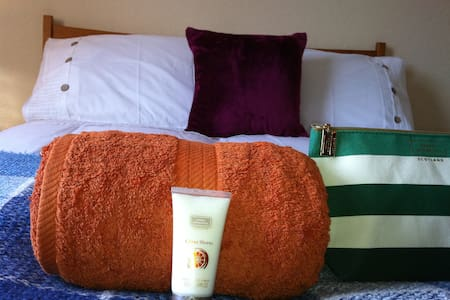 Glasgow: lovely room for female guests - Rutherglen - Dom