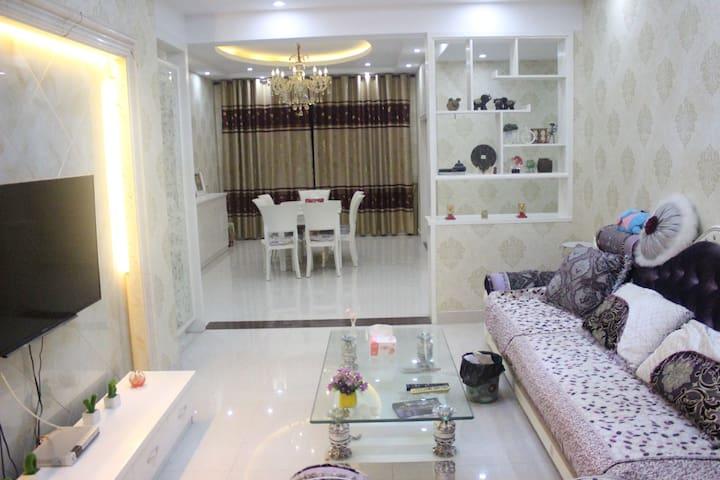 欢乐颂公寓家庭套房 - Jiaxing - Appartement