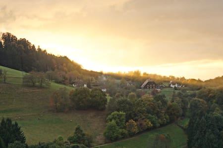 naturnahe Ferienwohnung inklusive Panoramablick - Horben - 公寓