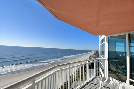 Awesome OceanFront #1002, 2 Bdrms! Balcony! Pools!