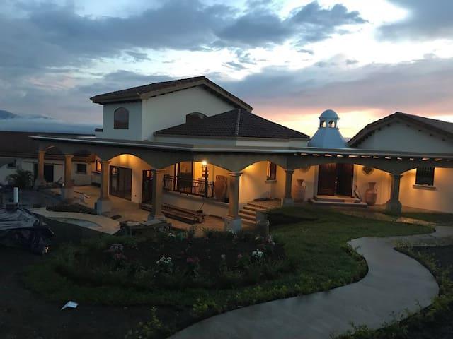 El Retiro Spanish Colonial Country Estate